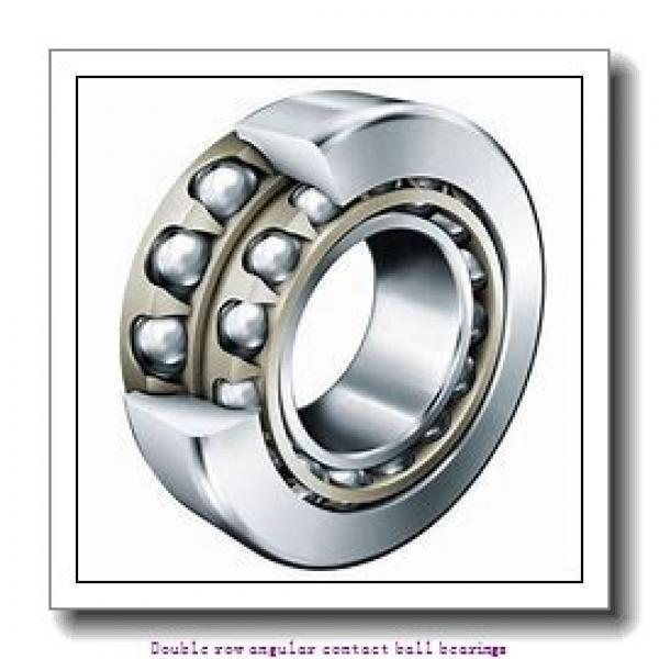 17  x 40 mm x 17.5 mm  ZKL 3203 Double row angular contact ball bearing #1 image