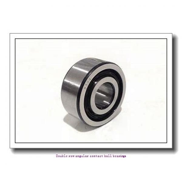 70  x 125 mm x 39.7 mm  ZKL 3214 Double row angular contact ball bearing #1 image