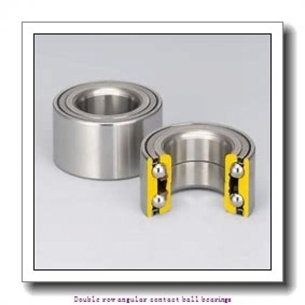 45  x 85 mm x 30.2 mm  ZKL 3209 Double row angular contact ball bearing #2 image