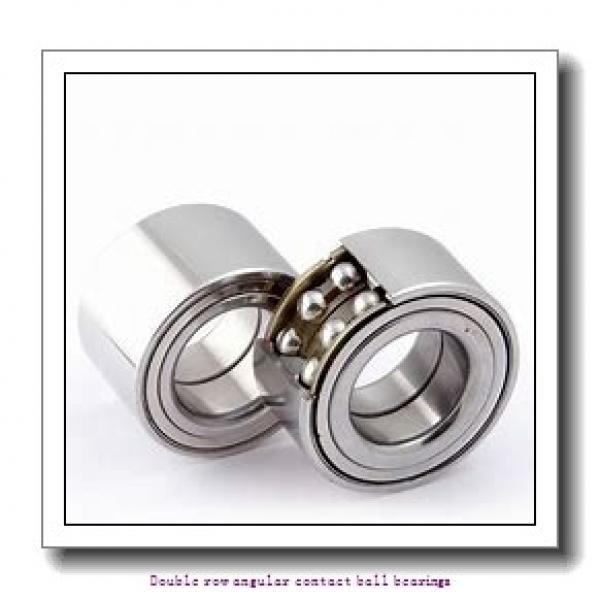 50  x 90 mm x 30.2 mm  ZKL 3210 Double row angular contact ball bearing #1 image