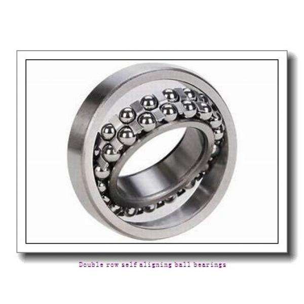 95 mm x 170 mm x 43 mm  ZKL 2219 Double row self-aligning ball bearings #1 image