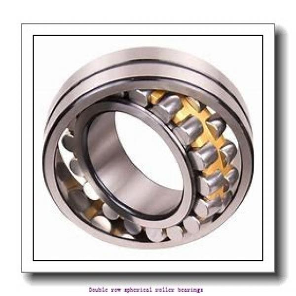 480 mm x 650 mm x 128 mm  ZKL 23996EW33MH Double row spherical roller bearings #1 image