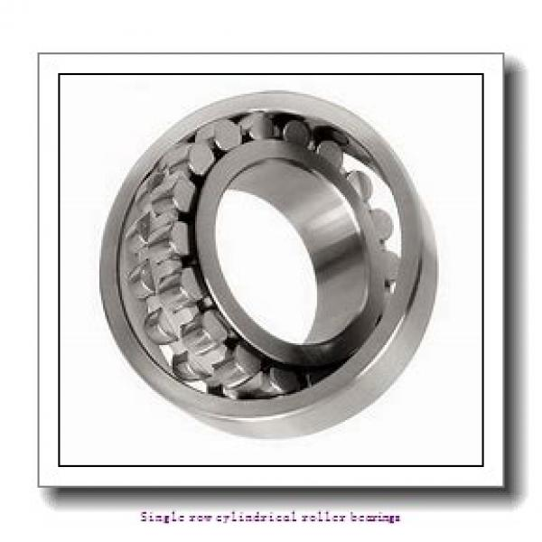 ZKL NU2216 Single row cylindrical roller bearings #2 image