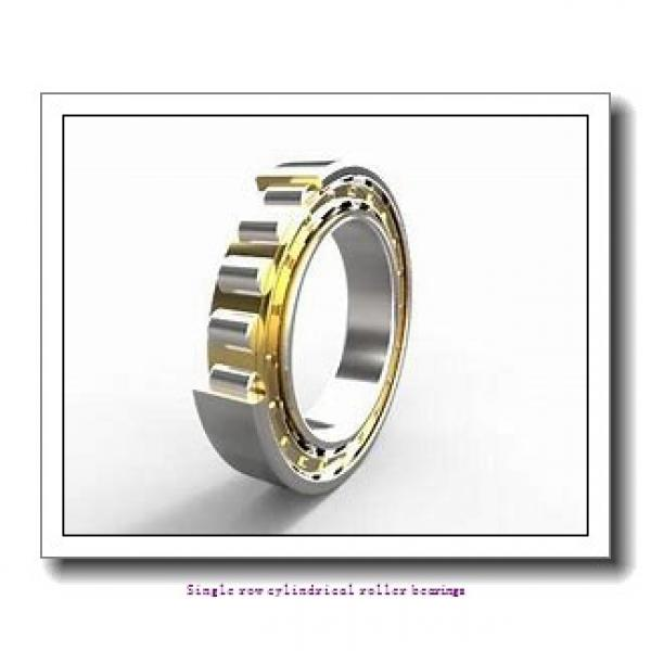 ZKL NU2216 Single row cylindrical roller bearings #1 image