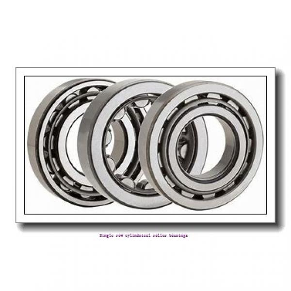 ZKL NU319 Single row cylindrical roller bearings #3 image