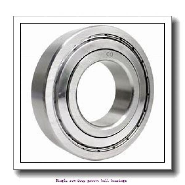 12 mm x 32 mm x 10 mm  ZKL 6201 Single row deep groove ball bearings #2 image