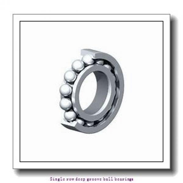 12 mm x 32 mm x 10 mm  ZKL 6201 Single row deep groove ball bearings #1 image