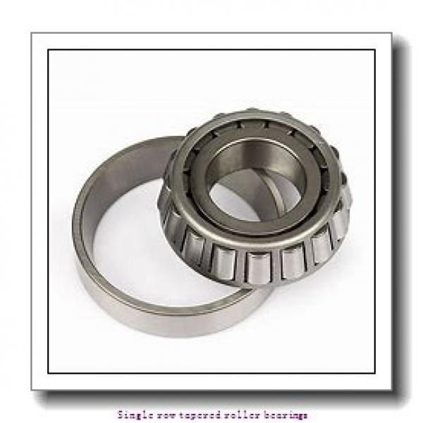 ZKL 32020AX Single row tapered roller bearings #1 image
