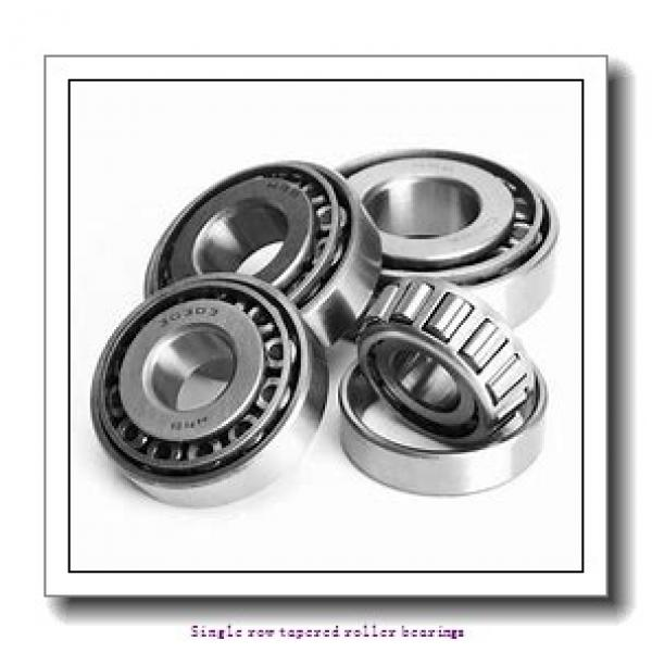 ZKL 30220A Single row tapered roller bearings #1 image